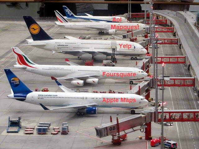 Data Aggregators Airport Illustration