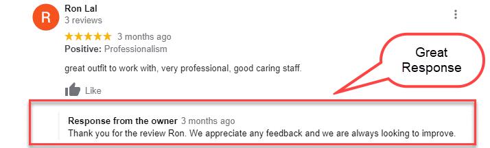 GMB Respond To Reviews