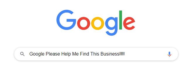 Google Basic Local SEO Search