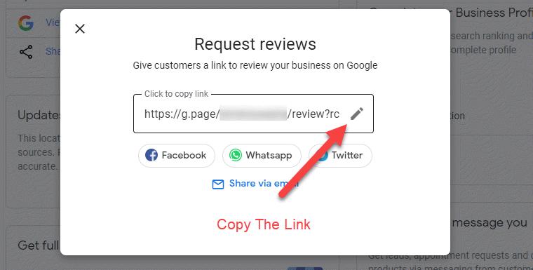 Google Shareable Link