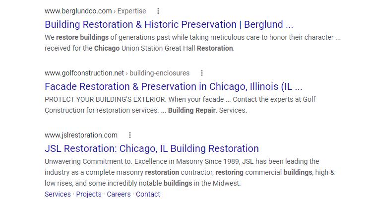 Building Restoration Google Search