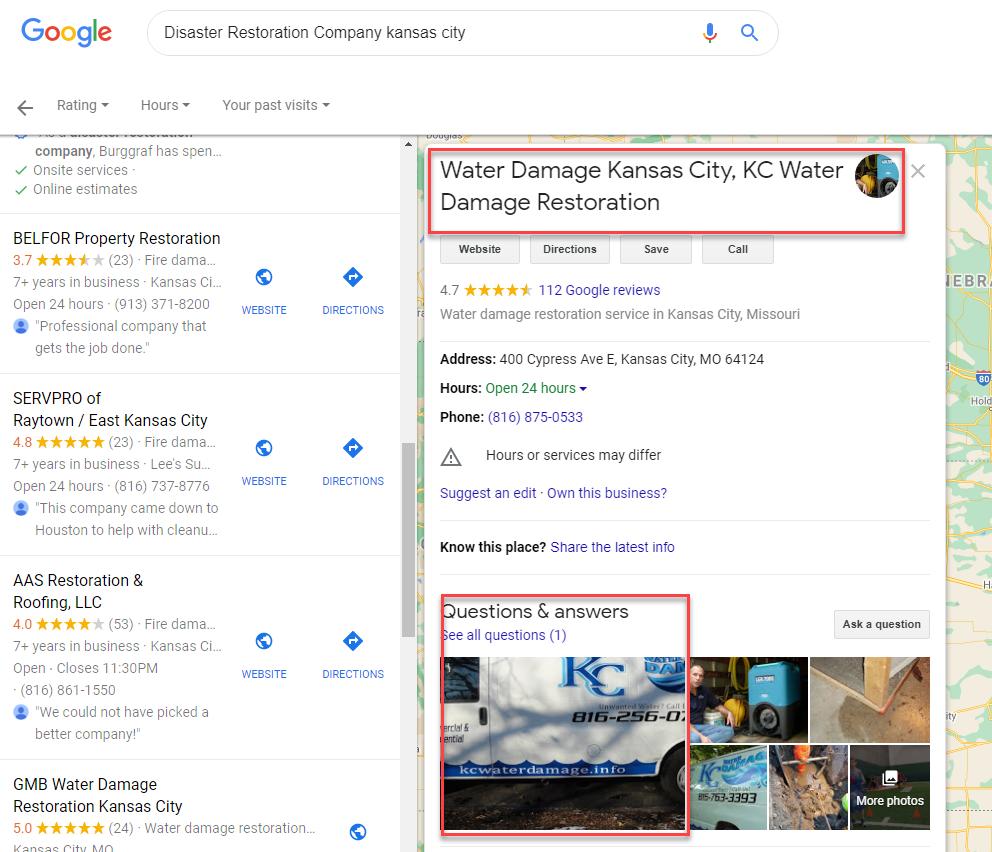 Water Damage Kansas City Real Listing