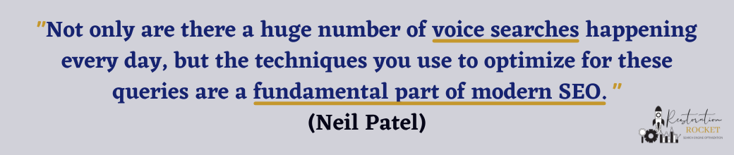 SEO quote for Voice Search